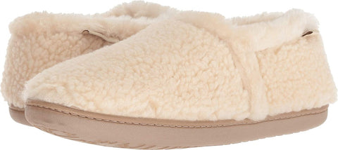 Minnetonka Dina Cream Berber MD (US Women's 6.5-7.5)