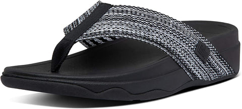 FitFlop Surfa All Black 9 M (B)