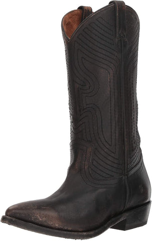 Frye Women's Billy Stitch Pull on Western Boot