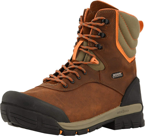 BOGS Men's Bedrock 8-inch Ct Composite Toe Waterproof Workboot