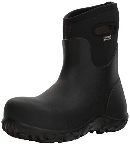 BOGS Mens Workman Mid Comp Toe Rubber Work Boot