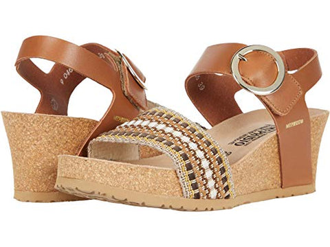 Mephisto Womens Laure Wedge Sandal