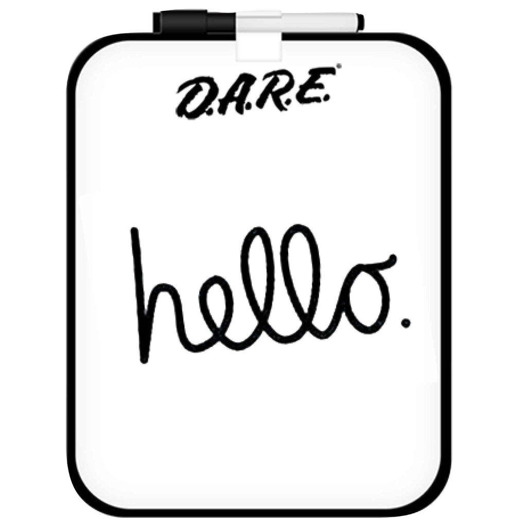 Dry Erase Board with Marker