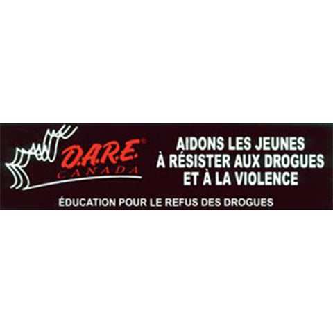 French DARE Bumper Sticker
