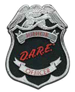 JR DARE Officer Sticker Roll (Roll of 500)