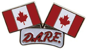 Canadian Dual Flag Pin