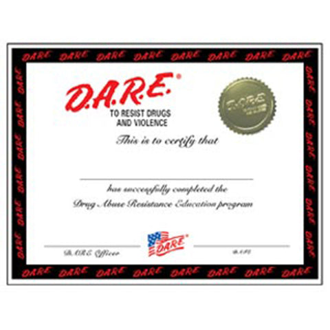 Graduation Certificate Black