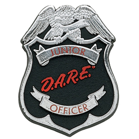 JR DARE Officer Button