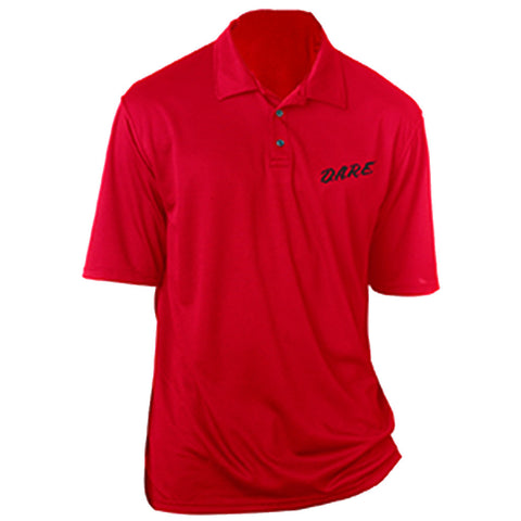 Micro Mesh Polo Red