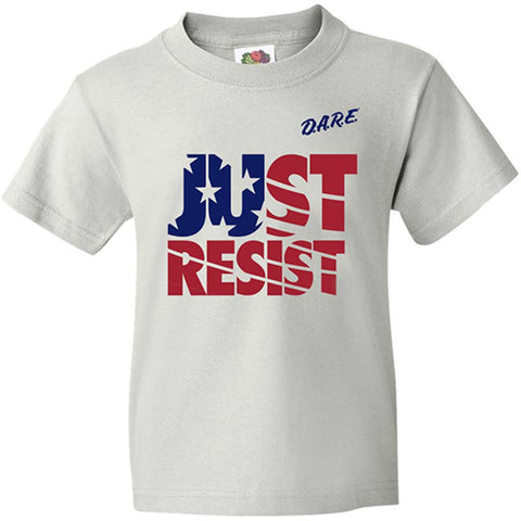 USA Just Resist Tee