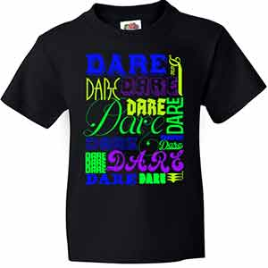 Neon DARE Everywhere Tee