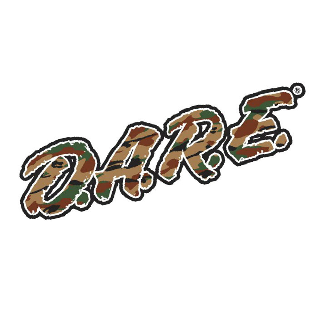 DARE Vinyl Decal - Camo