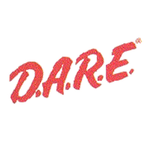 DARE Vinyl Decal - Red - Reflective