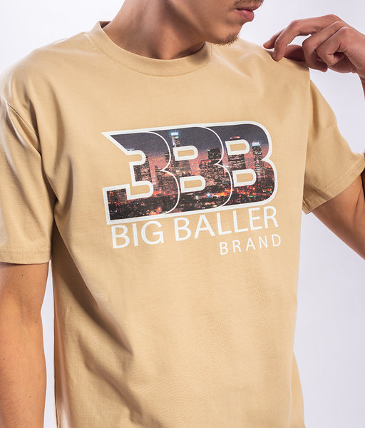 BBB  City Nights Lux Tan T-Shirt