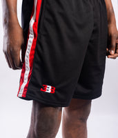 BBB Open Run Short -Black