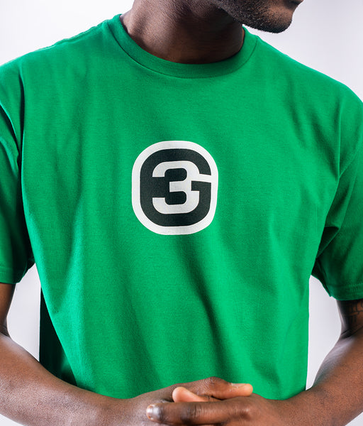 G3 - Logo Tee - Kelly Green