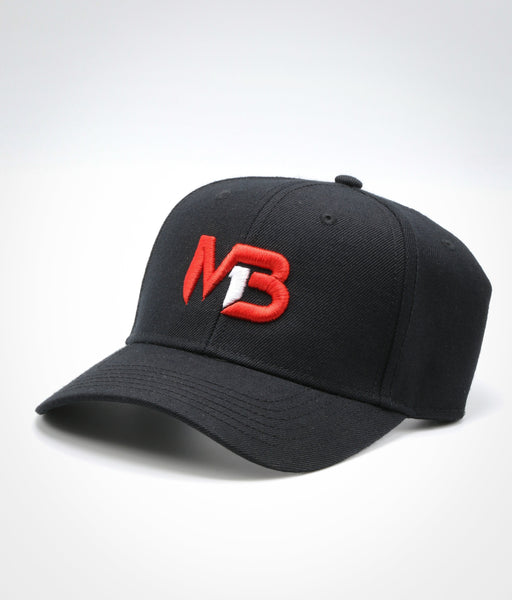 MB1 Black Baseball Cap