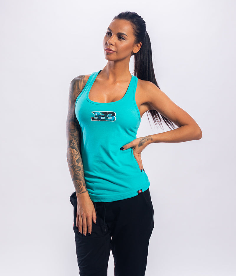 BBB No Worries Racerback Tank