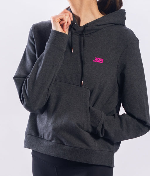 Lady Jogger With Hoodie