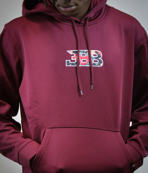 BBB Fall Breeze Hoody - Maroon