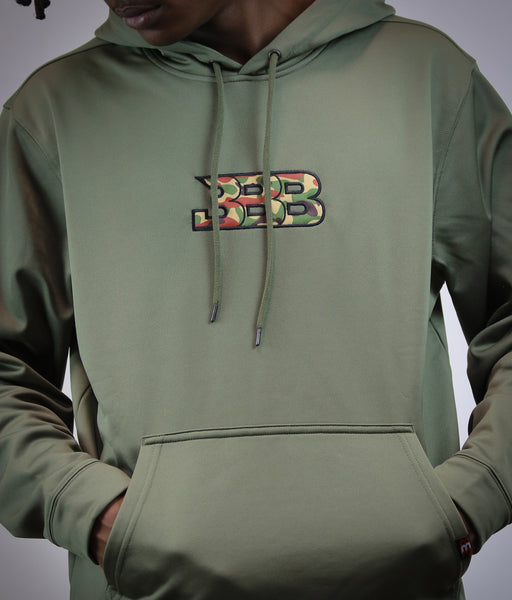 BBB Fall Breeze Hoody -Olive Green