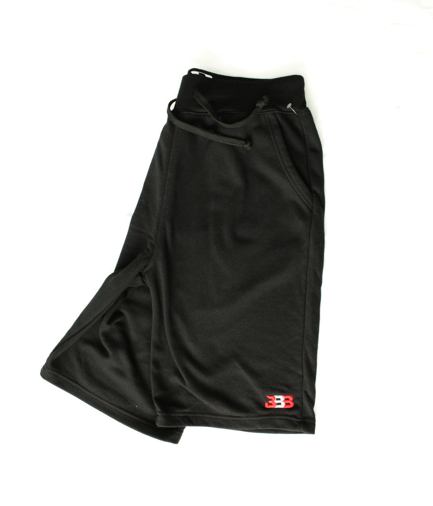 Black Unity Shorts - Embroidered BBB