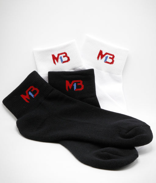 MB1 Mid Crew Socks - Combo Pack