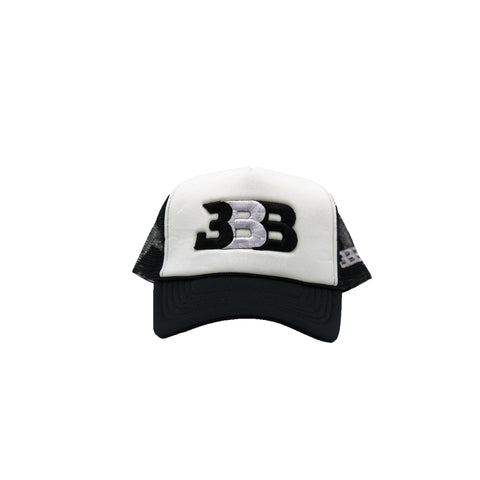 CH Blue - Grey White Grey BBB Hat
