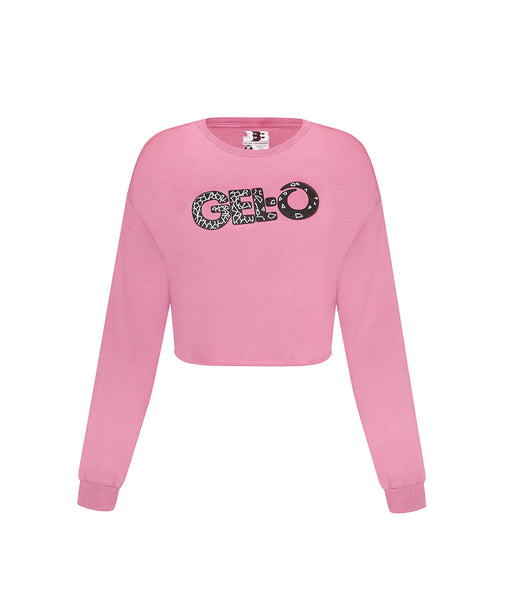 G3 Gelo Ladies Heavyweight Long Sleeve Crop