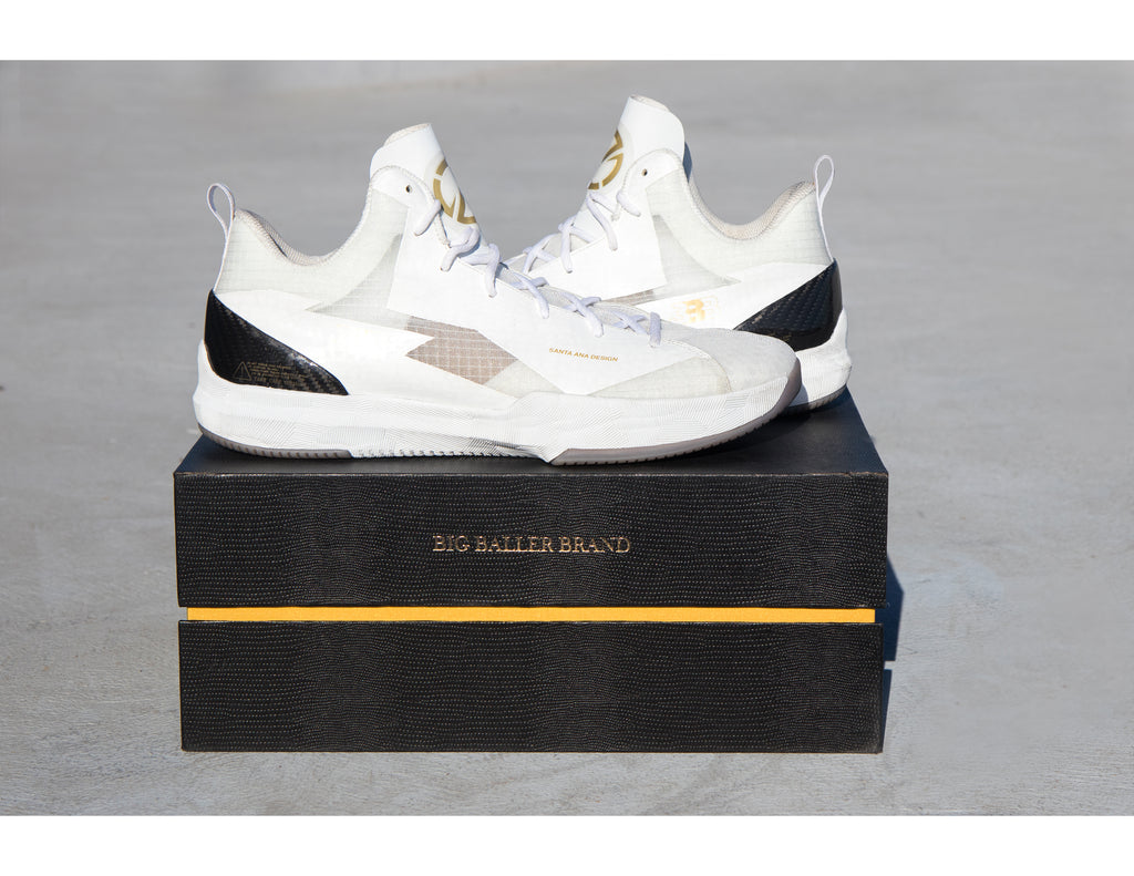 ZO2: TRIPLE WHITE- INDEPENDENCE DAY COLLECTION by Lonzo Ball