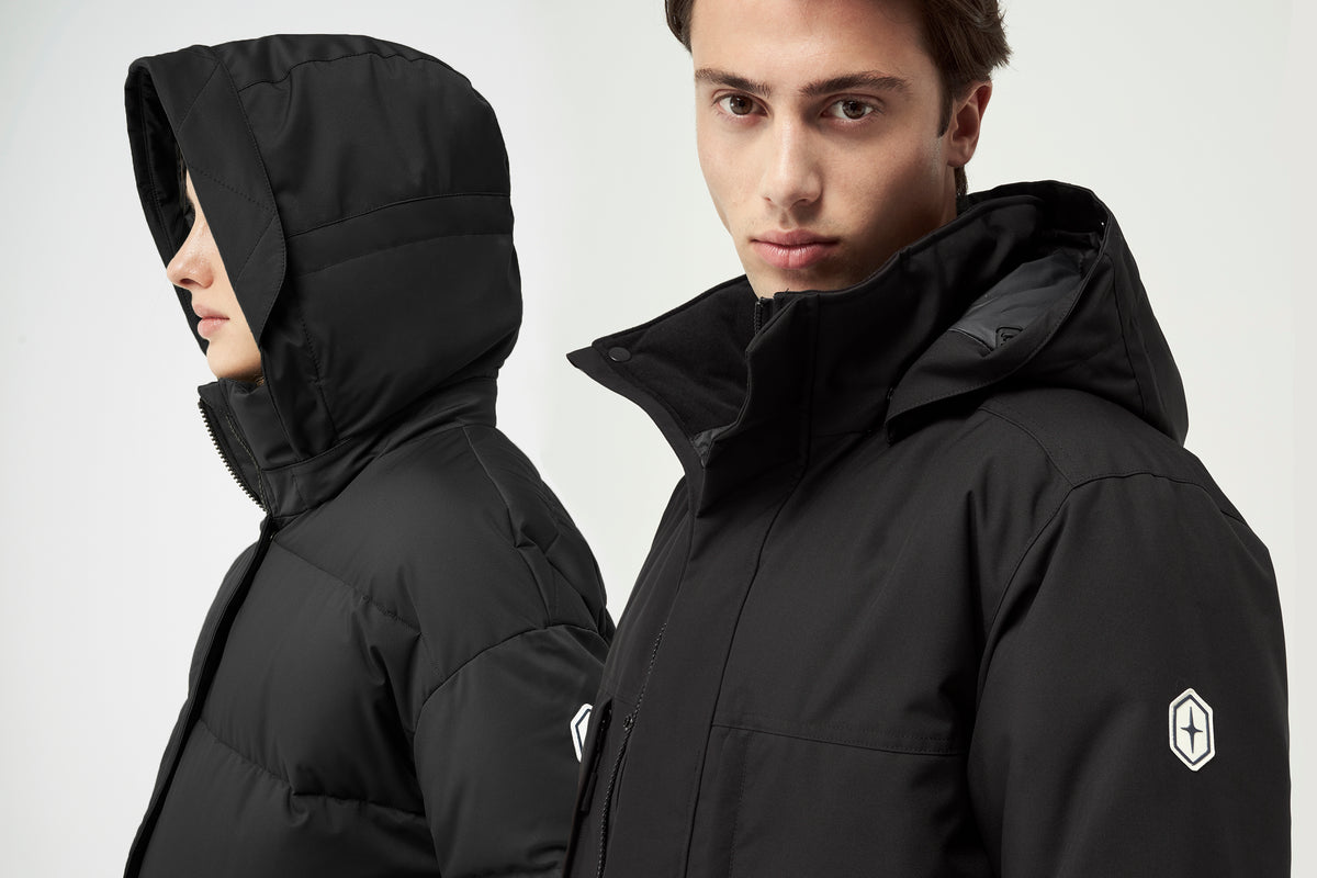 Quartz Co. winter jackets Made in Canada