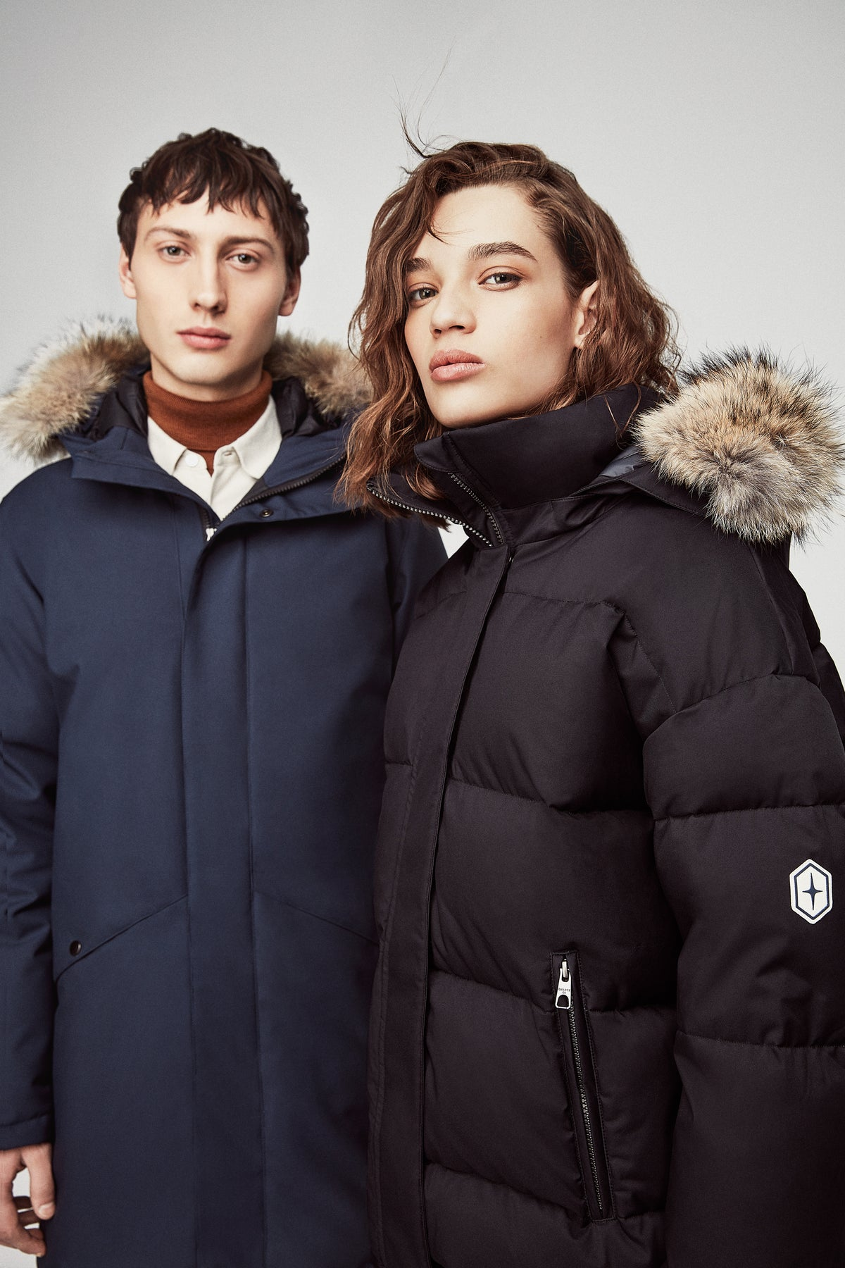 Quartz Co. winter jackets Made in Canada, Ingrid jacket and Clark jacket