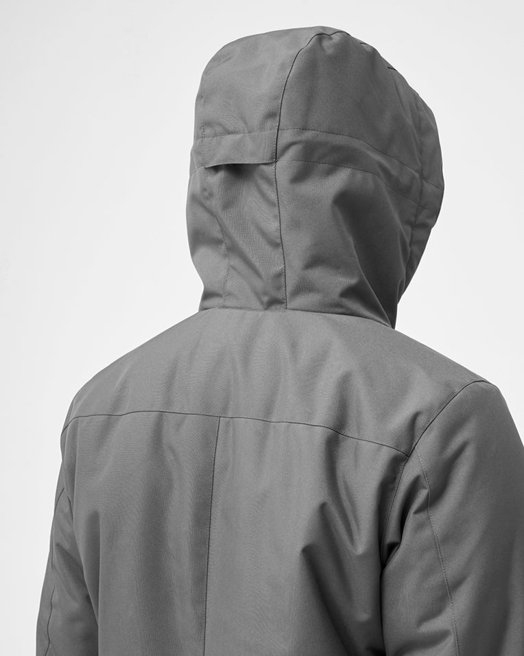 Quartz Co. winter jackets Made in Canada, Hood of jacket