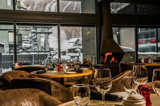 Bistro Nordik in Quebec located at Chateau Mont-Saint-Anne