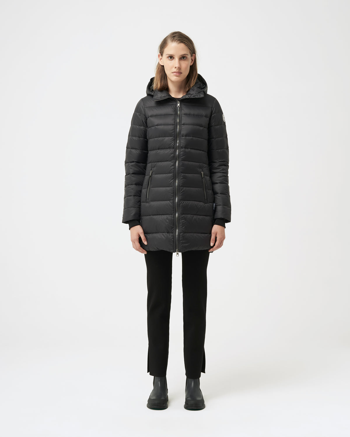 Quartz Co. - Canadian Made Winter Jackets | Lausanne | Manteau Transition | Front