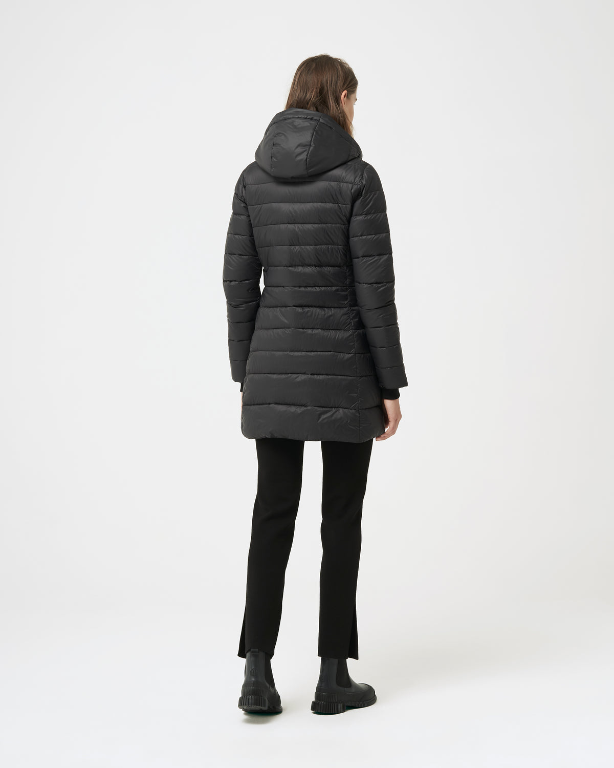 Quartz Co. - Canadian Made Winter Jackets | Lausanne | Women Down Lightweight jacket | Back