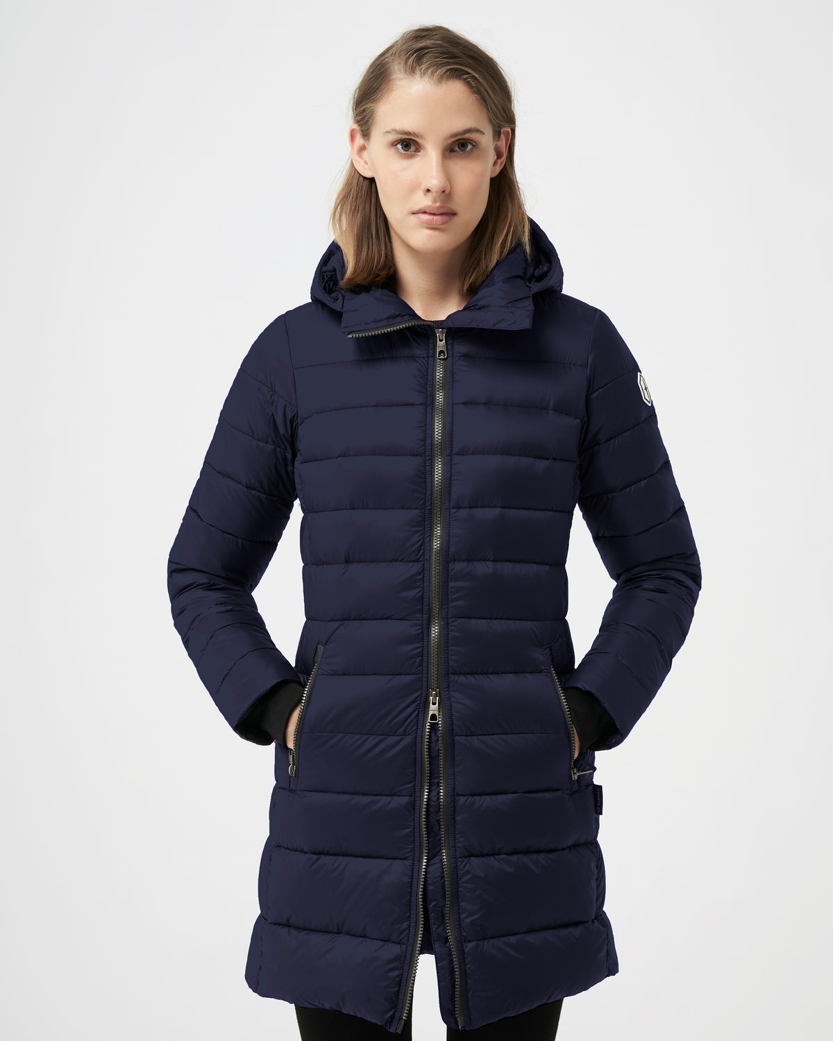 Quartz Co. - Canadian Made Winter Jackets | Women | Lausanne | Women Down Lightweight jacket | Moonlight Ocean
