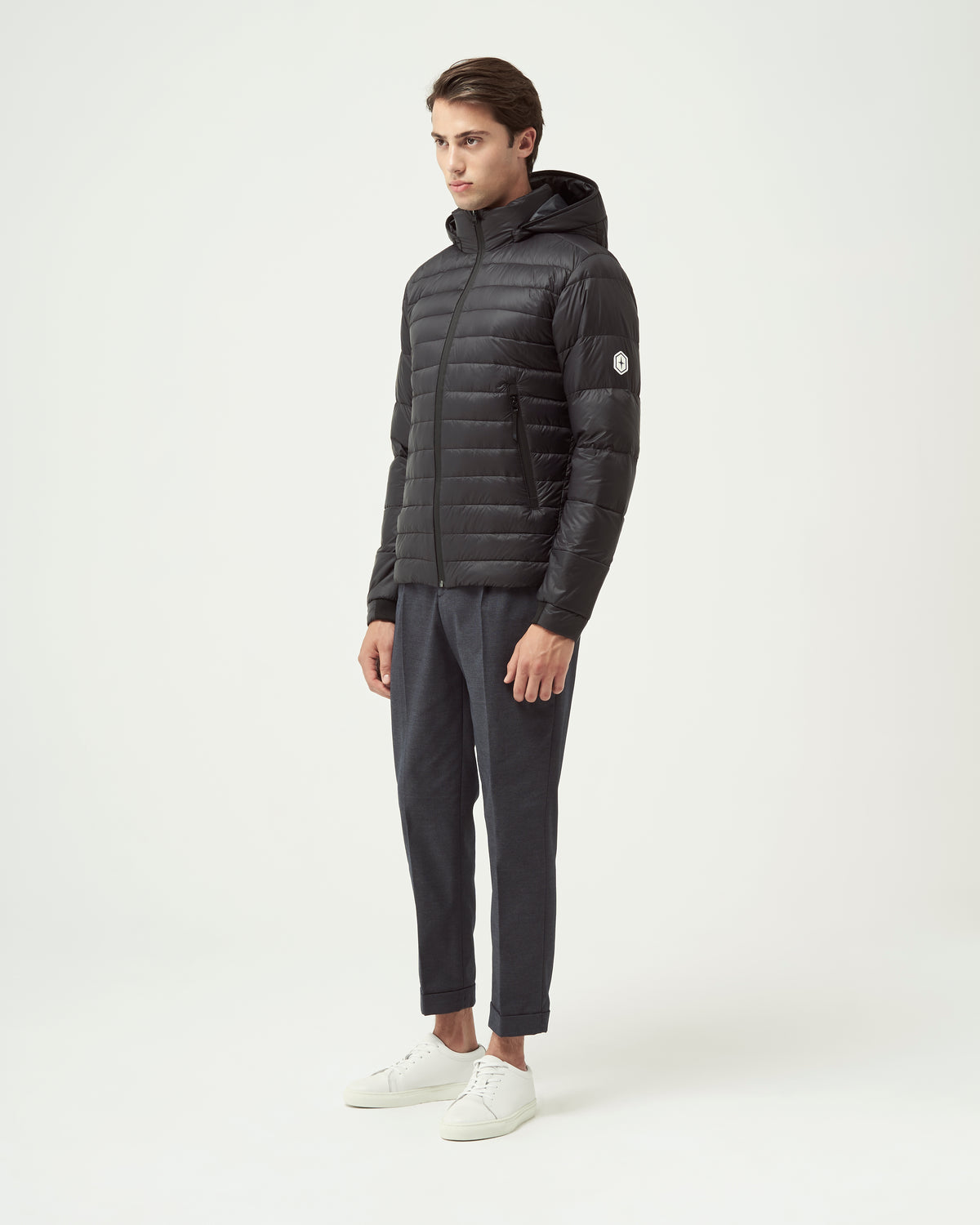 Quartz Co. - Canadian Made Winter Jackets | Lans | Men Down Lightweight Jacket Description | Side