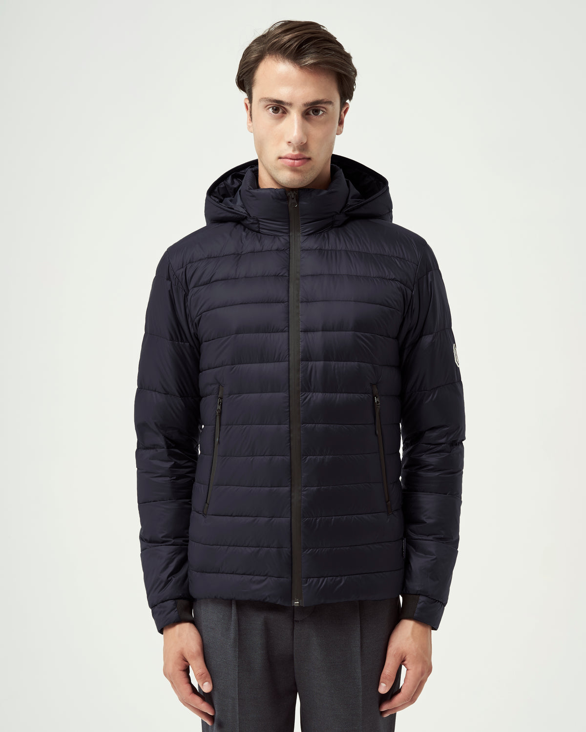 Quartz Co. - Canadian Made Winter Jackets | Lans | Men Down Lightweight Jacket | Moonlight Ocean