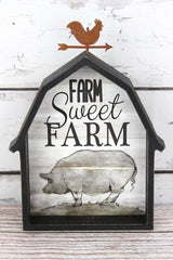 Farm Sweet Farm Pig Sign