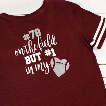 Girlfriend football t shirt
