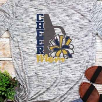 Cheerleader football mom shirts