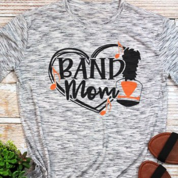 Band football mom shirts