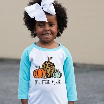 It's fall y'all toddler pumpkin tee