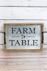 Farm to Table Tray