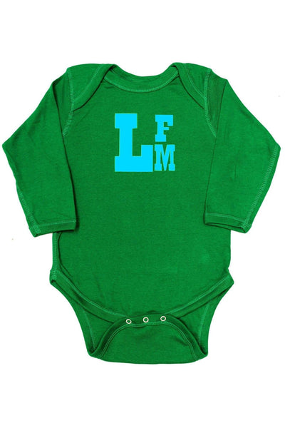 Rabbit Skins Infant Long Sleeve Creeper *Personalize It