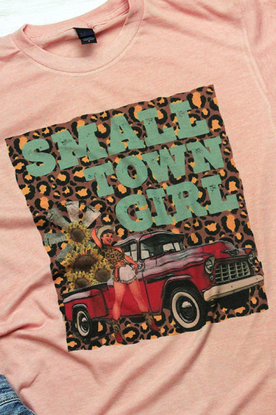 Small Town Girl Western Unisex Blend Tee