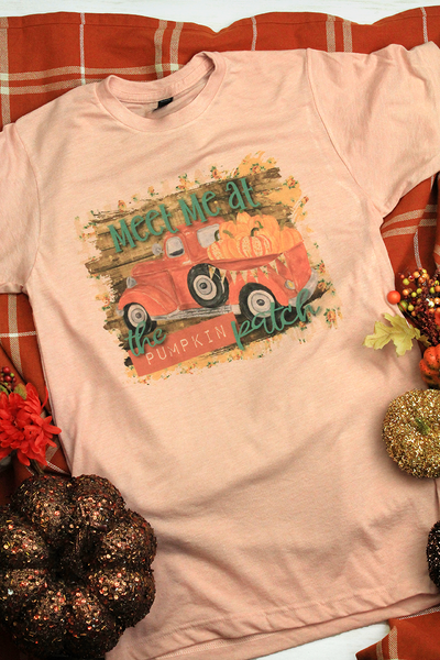 Meet Me At The Pumpkin Patch Unisex Blend Tee