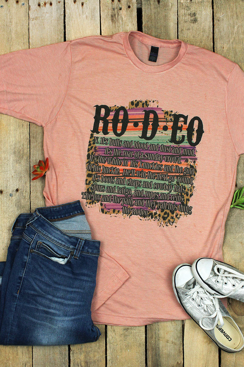 Rodeo Unisex Blend Tee