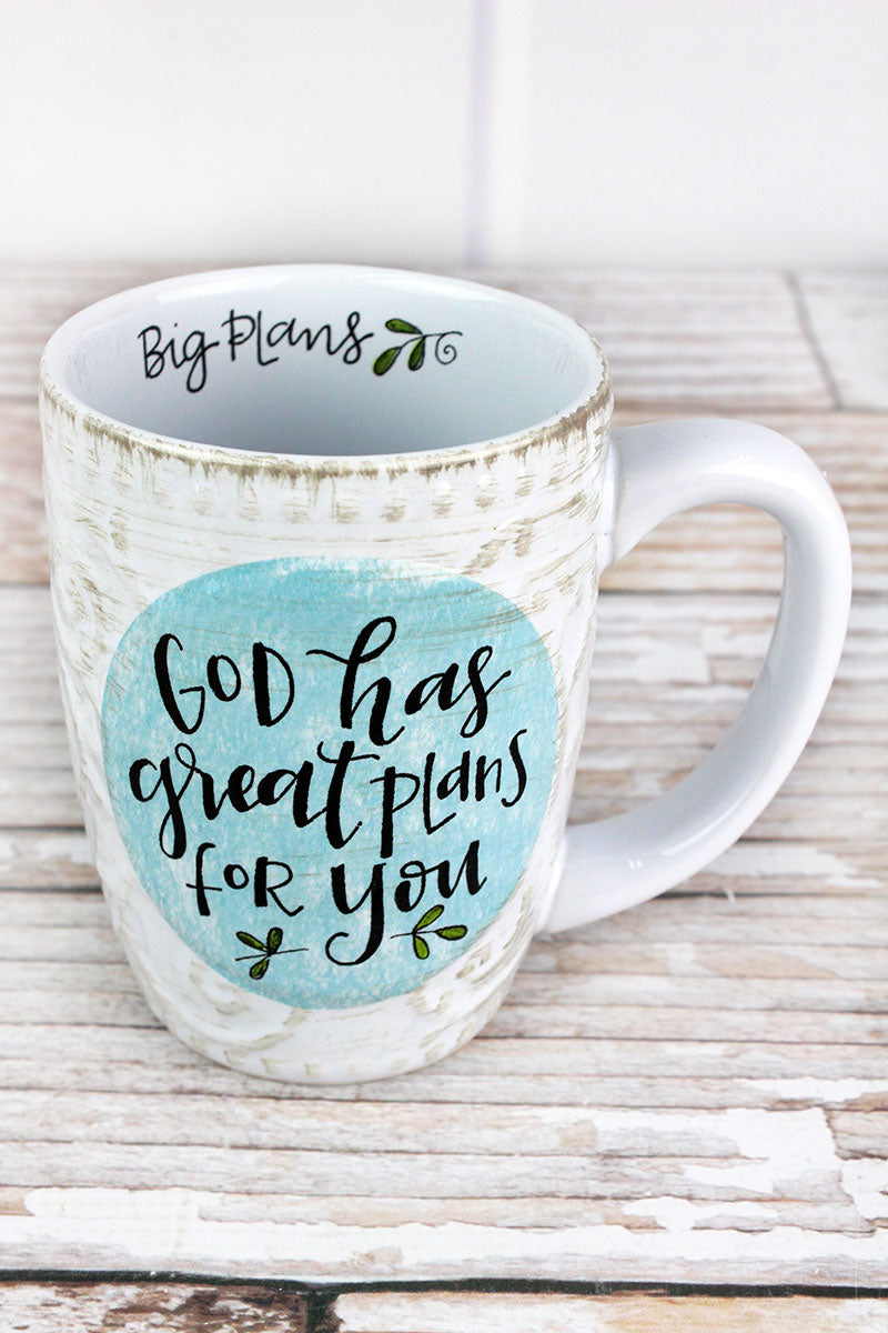 Great Plans Simple Inspirations Ceramic Mug